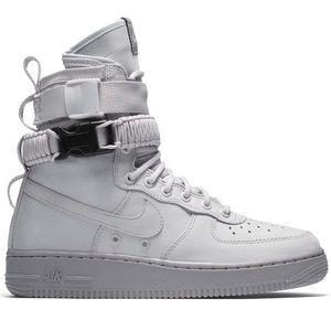 Nike SF AF1 High Vest Grey (W)
